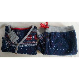 Cuddl Duds Pajama Set